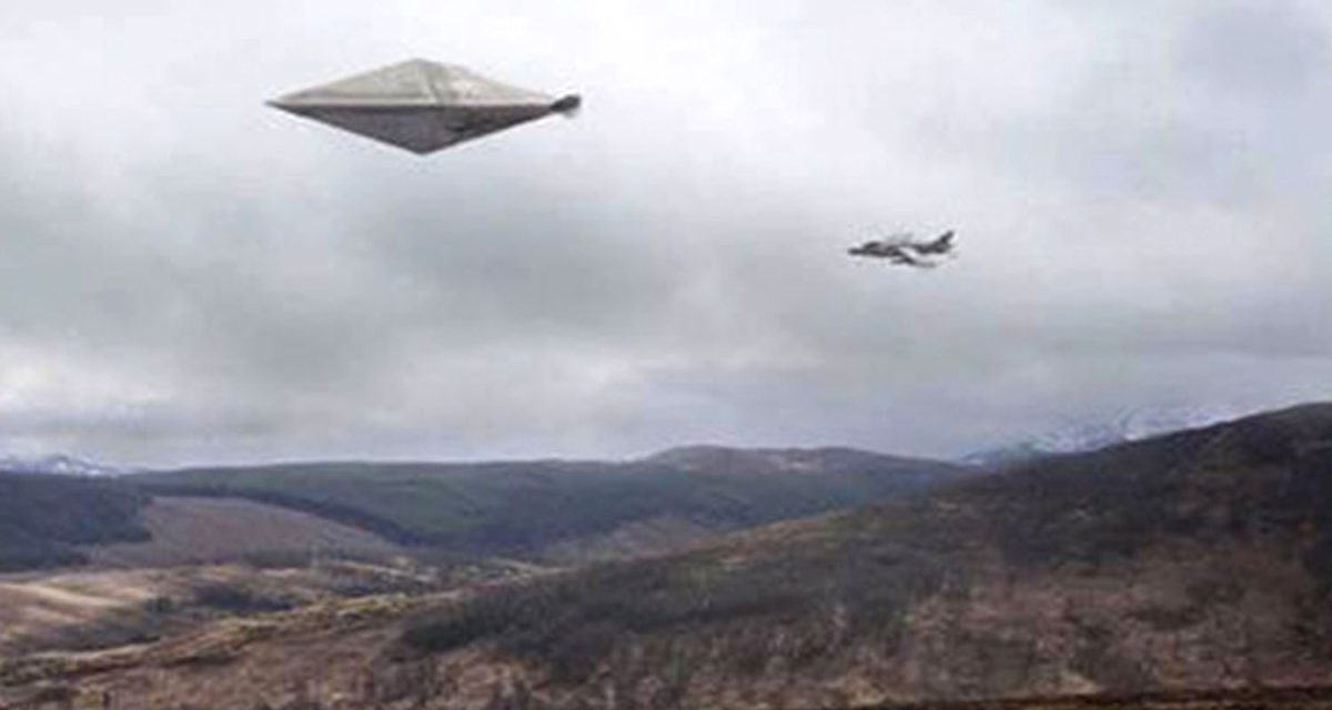 I've seen the top secret photos showing 'Britain's most significant UFO sighting' – they left us shell-shocked