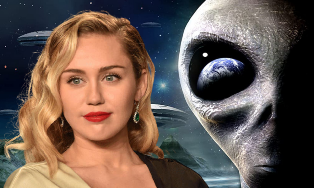 """Miley Cyrus Claims She """"Made Eye Contact"""" With Alien In UFO Encounter"""