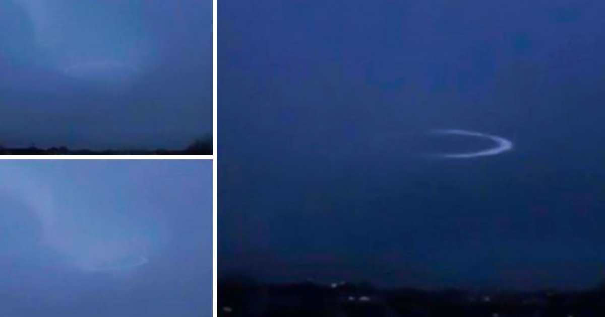 Thunderstrike Temporarily Disabled UFO's Cloaking Shield – Recorded on Camera – Revealed