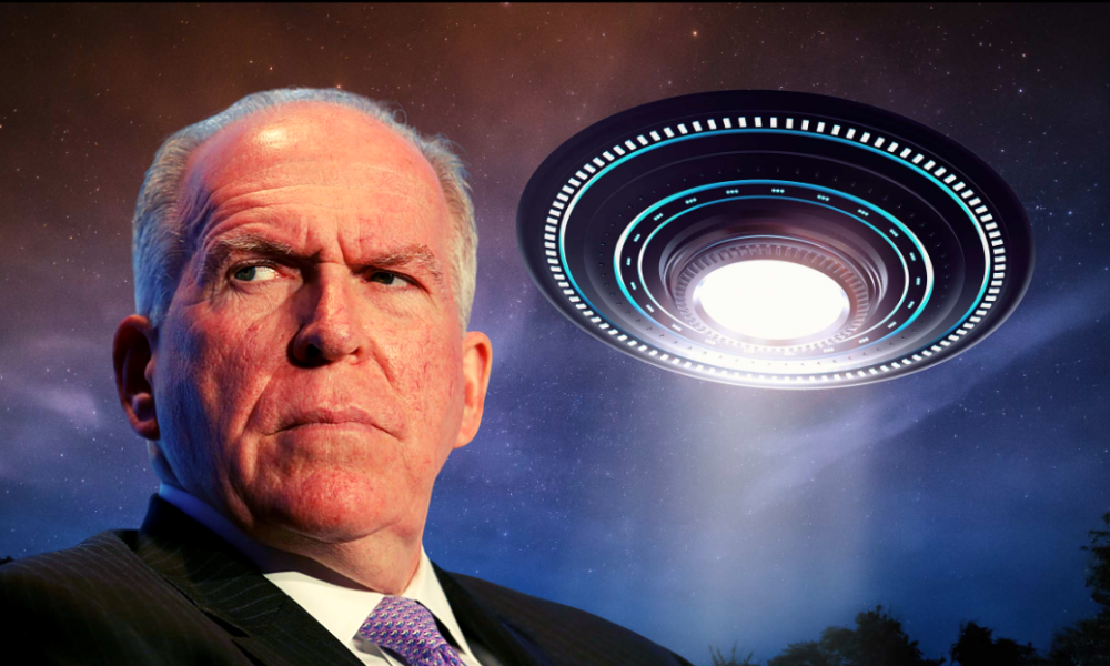 Former CIA Director John Brennan Suggests UFOs And Aliens Are Real
