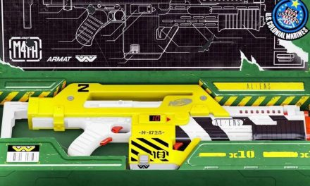 Nerf LMTD Aliens 35 Anniversary M41-A Blaster Is up for Pre-Order
