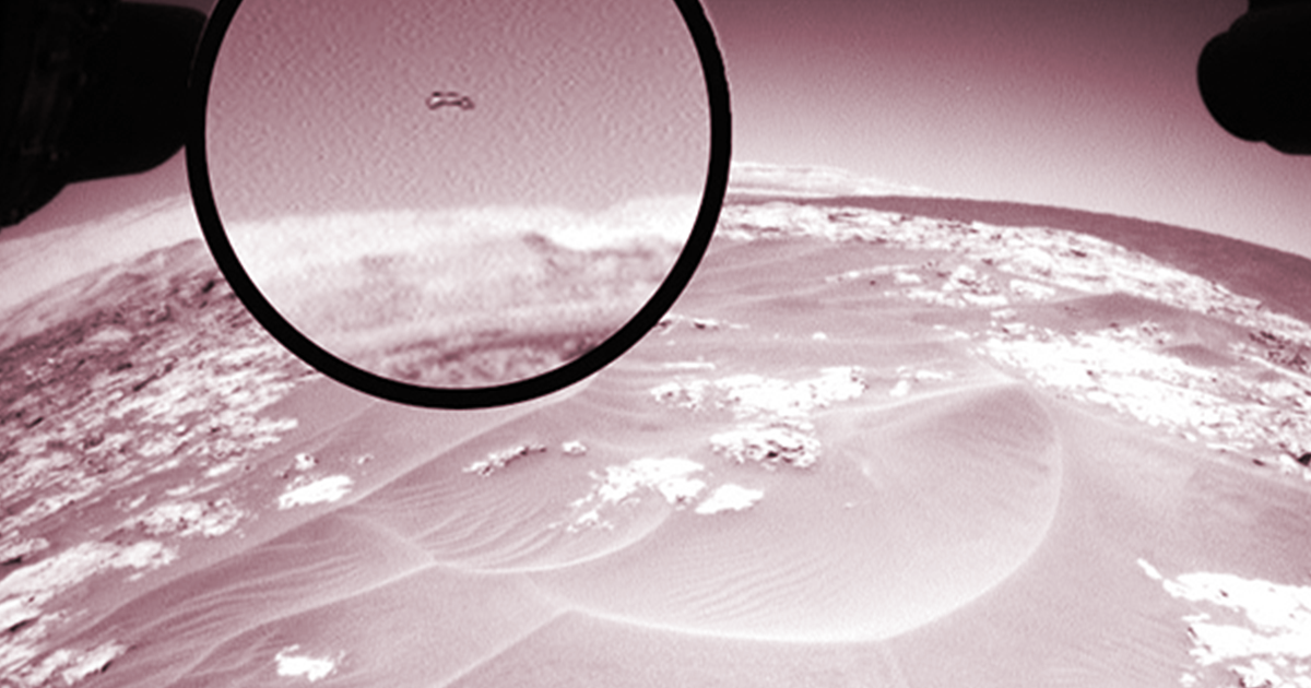 Another UFO Appears In NASA's Photos From Mars – Alien News