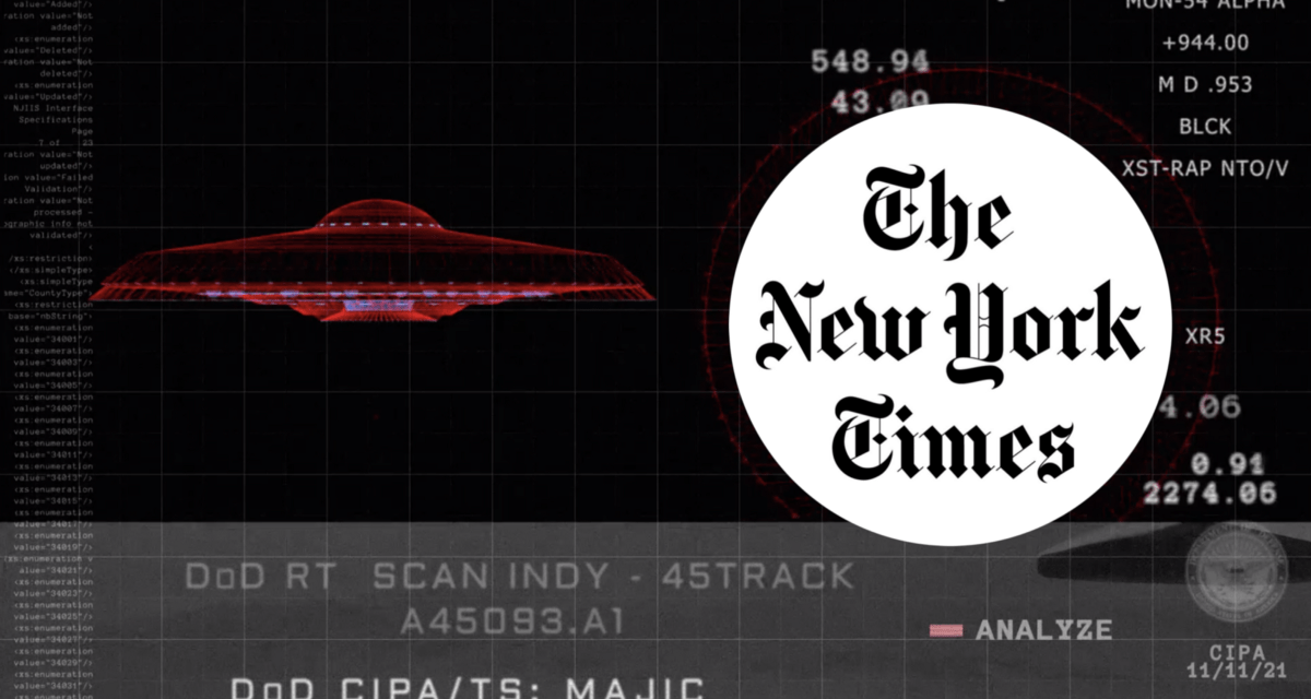 No Longer in the Shadows, Pentagon's UFO Unit Will Make Some Findings Public