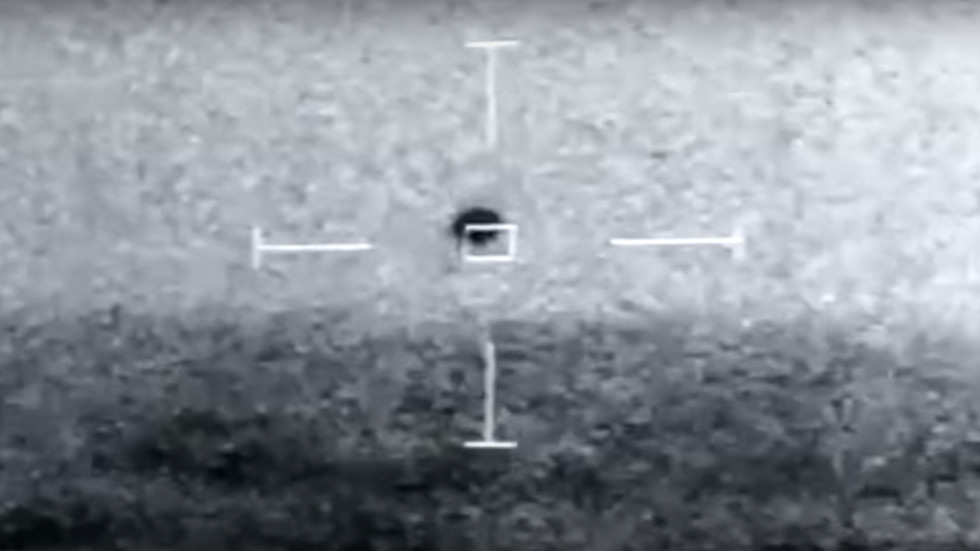 Pentagon says leaked VIDEO showing mysterious spherical object is genuine & under investigation by 'UFO task force'