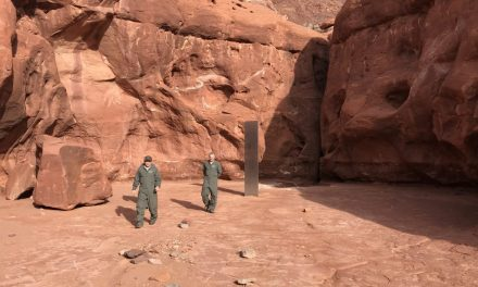 A Mysterious Steel Monolith Was Discovered in the Utah Desert. Is It a Work of Art—or the Work of Aliens?