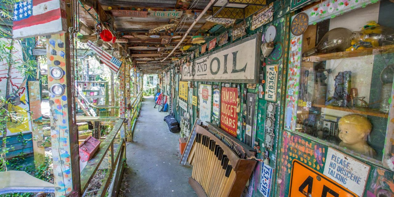 UFOs, Elvis, and truckloads of junk: Abita Mystery House draws the curious to southeastern Louisiana   Roadtrippers