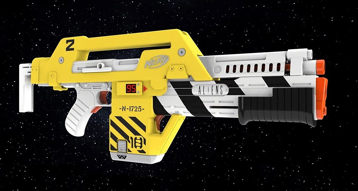 Nerf Is Making Its Own Version of 'Aliens' Famous Pulse Blaster