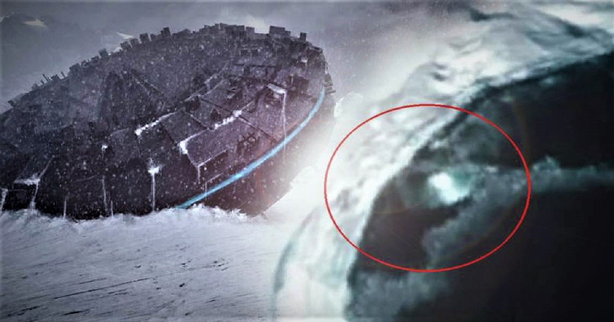 Bizarre UFO Seen in Antarctica Thanks to Satellite Images – Revealed