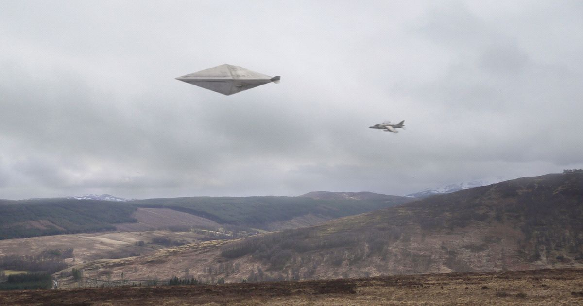 Secret UFO dossier into 1990 Scottish 'spacecraft sighting' sealed for another 50 years – Daily Record